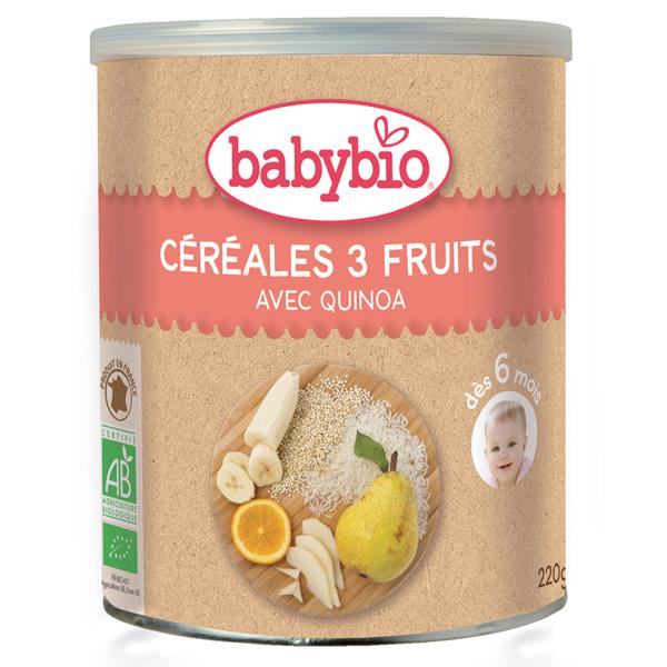 cereales bio bebe 4 mois - L'équipement de puericulture