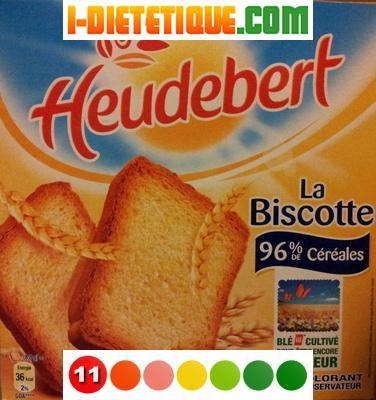composition biscottes - L'équipement de puericulture