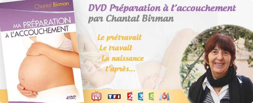 dvd preparation accouchement