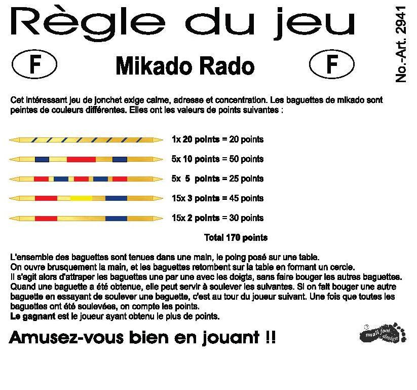 regle de jeu mikado