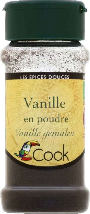 vanille en poudre bio
